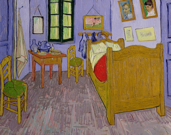 Van Gogh_Bedroom in Arles