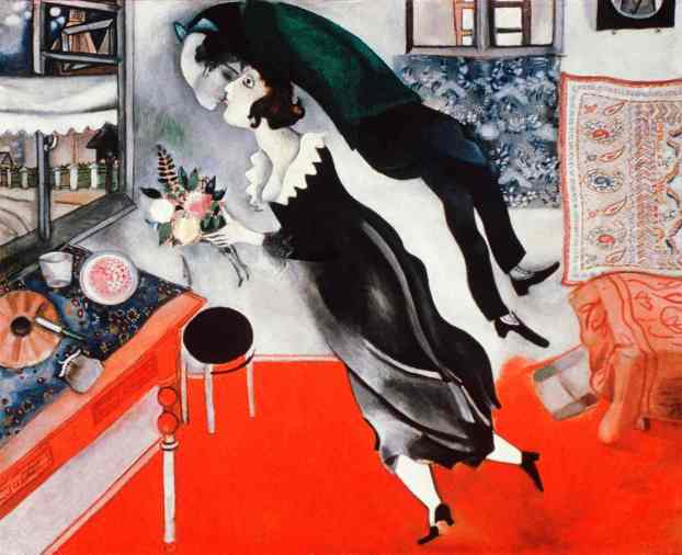 The Birthday, by Marc Chagall