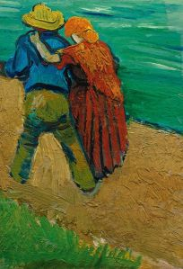 A Pair of Lovers (fragment), March 1888. Oil on canvas, 32.5 x 23.0 cm