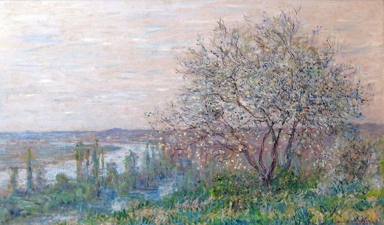 Claude Monet_Spring In Vetheuil