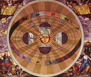 Engraving of the Copernican Solar System by Andreas Cellarius