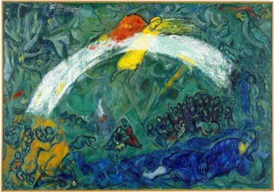 Noah and the Rainbow - Marc Chagall