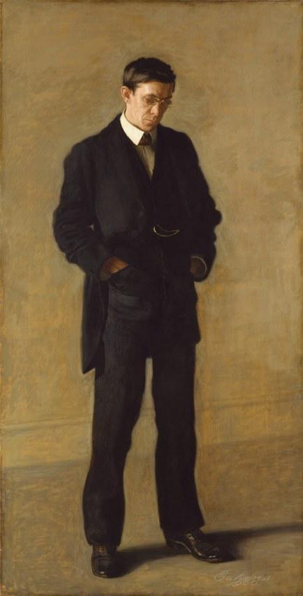The Thinker_Portrait of Louis N. Kenton_Thomas Eakins
