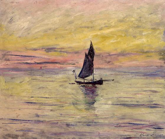 The Sailing Boat Evening Effect_Claude Monet