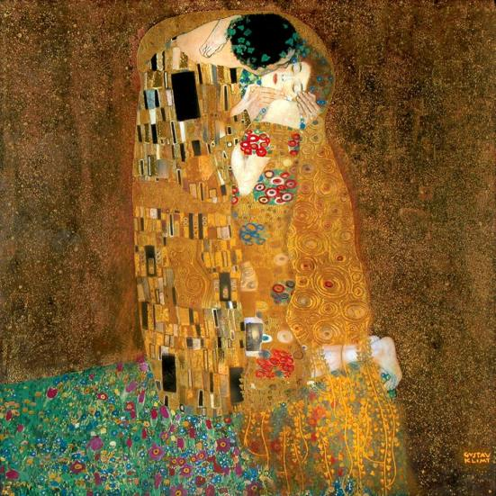 2_Klimt_The Kiss