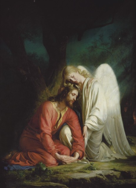 Christ in Gethsemane_Carl Bloch