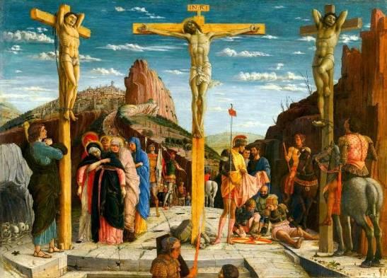 Crucifixion (Crocifissione) Andrea Mantegna
