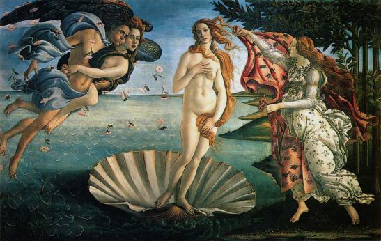 The Birth of Venus_Sandro Botticelli