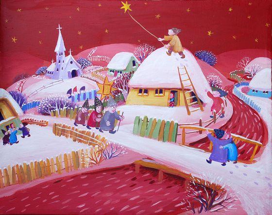 Iarna rosie cu stea_Gheorghe Ciobanu