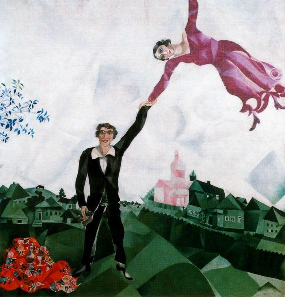 Marc Chagall_The Promenade
