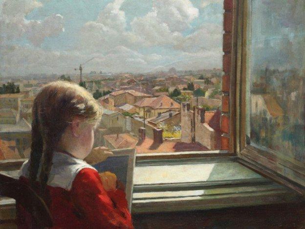 Micuța pictoriță, GEORGE CATARGI