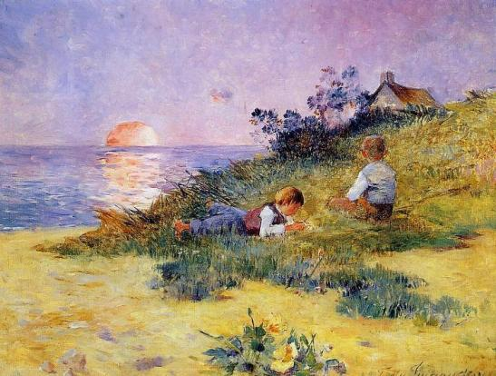 Puigaudeau,_Ferdinand_du_-_Children_on_a_Dune