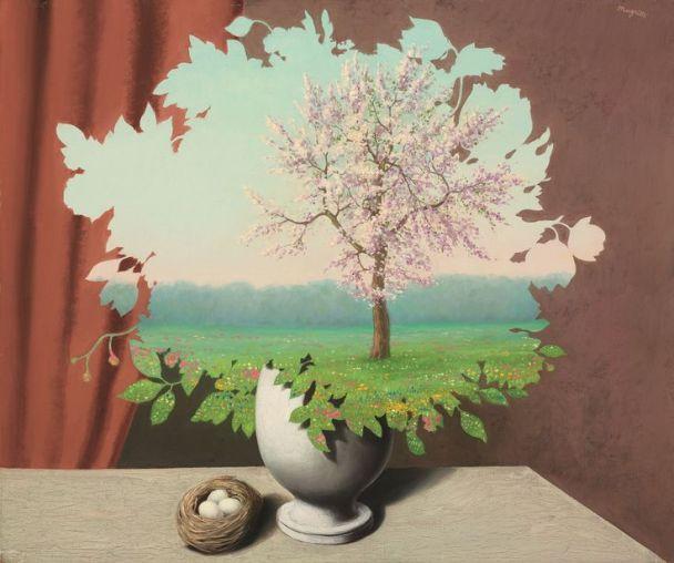 René Magritte (1893-1983)Le plagiat (Plagiary)