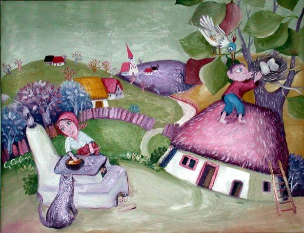 soba de lut - de pictor Ghe Ciobanu 1