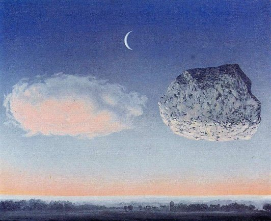 The Battle of the Argonne - by Rene Magritte
