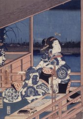 Brooklyn_Museum_-_Moonlight_View_of_Tsukuda_with_Lady_on_a_Balcony_-_Utagawa_Hiroshige_(Ando)