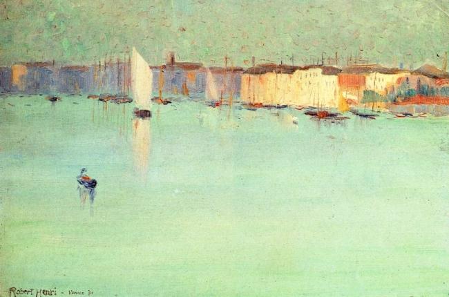 Early Morning, Venice - Robert Henri