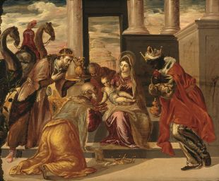 El Greco_Adoración_de_los_Reyes_Magos