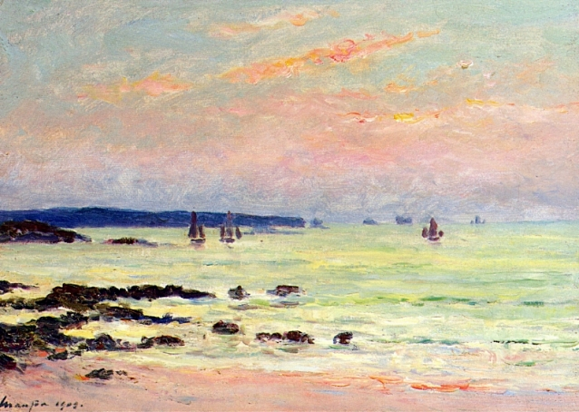 evening-at-the-sea-maufra