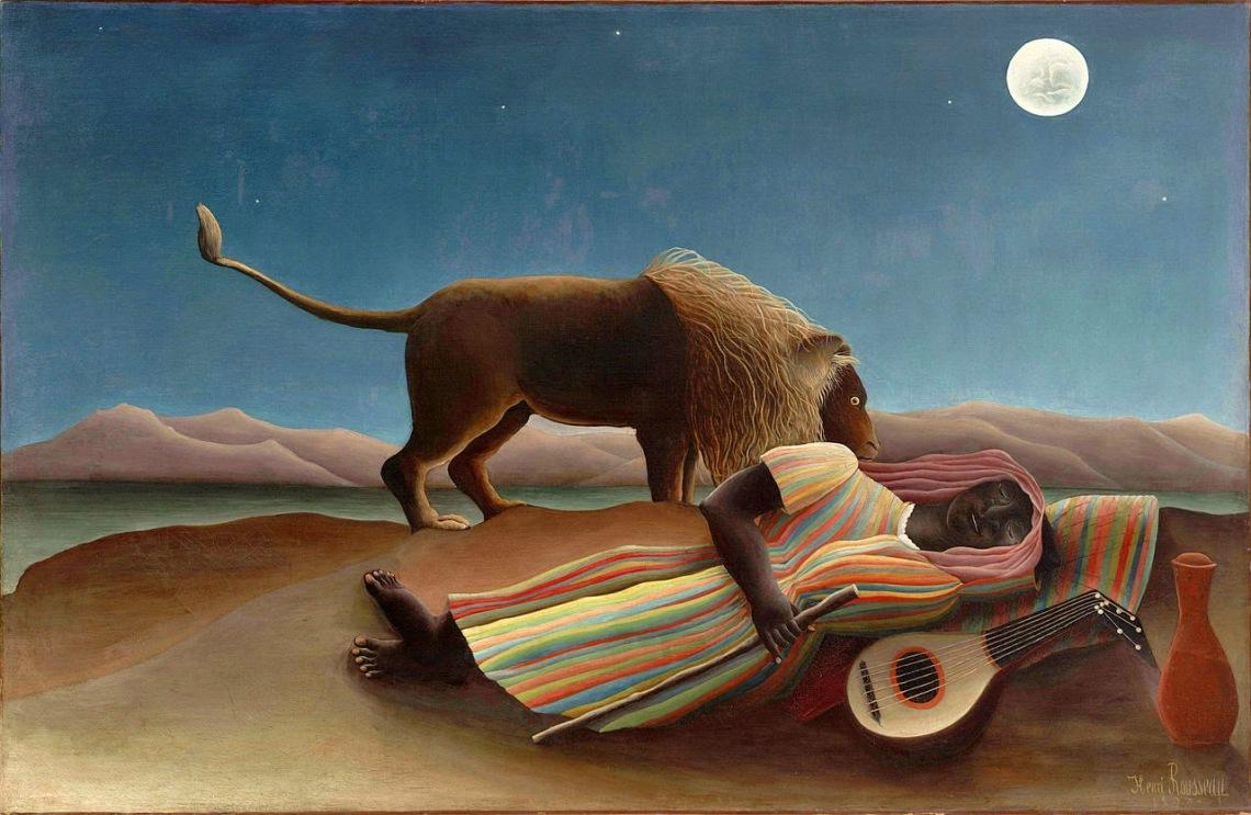 Henri Rousseau-The Sleeping Gypsy