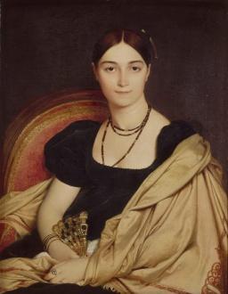 Jean-Auguste-Dominique_Ingres_-_Portrait_de_Madame_Duvaucey_-_Google_Art_Project