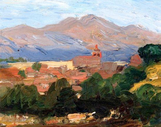 Robert Henri 1906 - Segovia, Spain