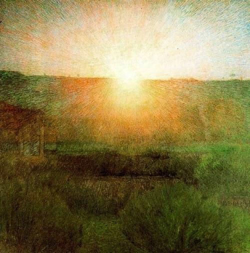 Giuseppe Pellizza da Volpedo, Il Sole