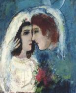 chagall-indragostiti-in-profil