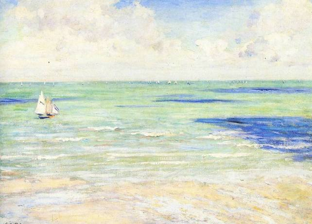gustave-caillebotte-seascape-regatta-at-villers