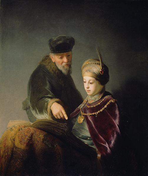 rembrandt-harmensz-van-rijn-a-young-scholar-and-his-tutor