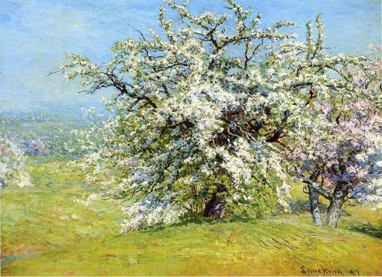 Joseph Enneking - Blooming Meadows